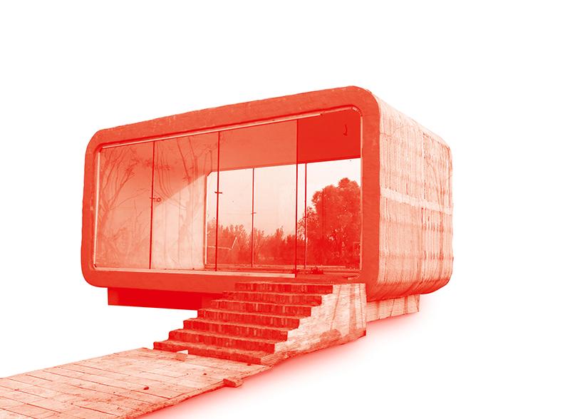 Haus aus dem 3D Druck