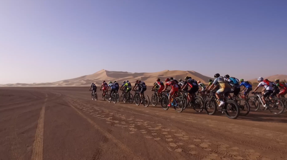 Over 600 cyclists compete at the Titan Desert.